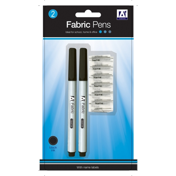 A Star Fabric Pens & Labels Pack 2