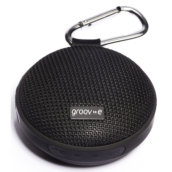 Groov-e GVSP362BK Wave I Portable Wireless Bluetooth Speaker 3W