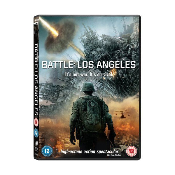 Battle Los Angeles DVD
