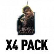 (4 Pack) Chewbacca (Star Wars) Official Disney Car/Home Air Freshener