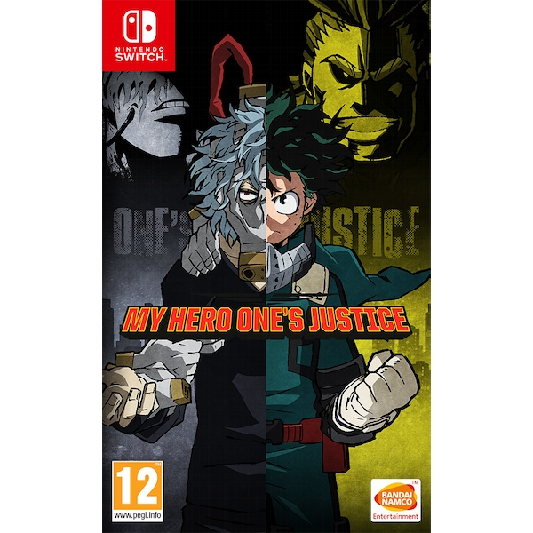 My Hero One's Justice Nintendo Switch Game