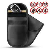 Car Key Anti-Theft Signal Blocker Pouch - Set of 2 | Pukkr