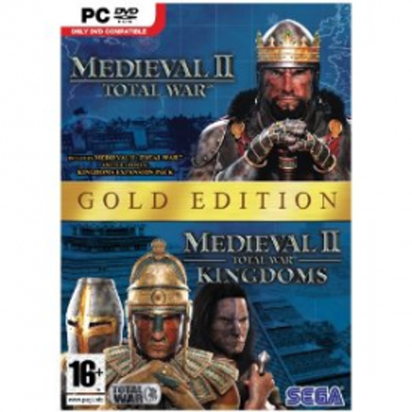 Medieval II 2 Total War Gold Edition Game PC