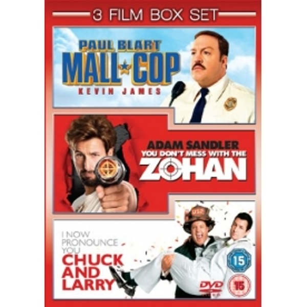 Paul Blart Mall Cop  You Don't Mess with the Zohan  I Now Pronounce You Chuck and Larry DVD