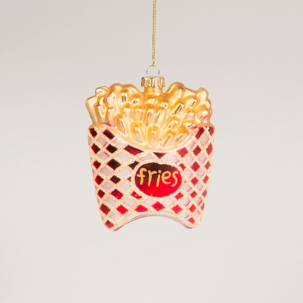Sass & Belle French Fries Shaped Bauble