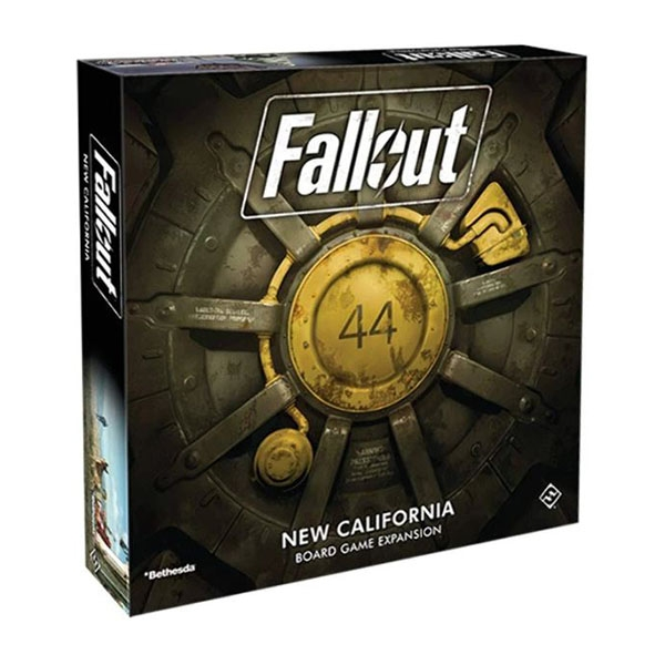 Fallout - New California Expansion Board Game