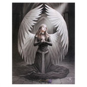 Small Prayer For The Fallen Canvas Picture by Anne Stokes