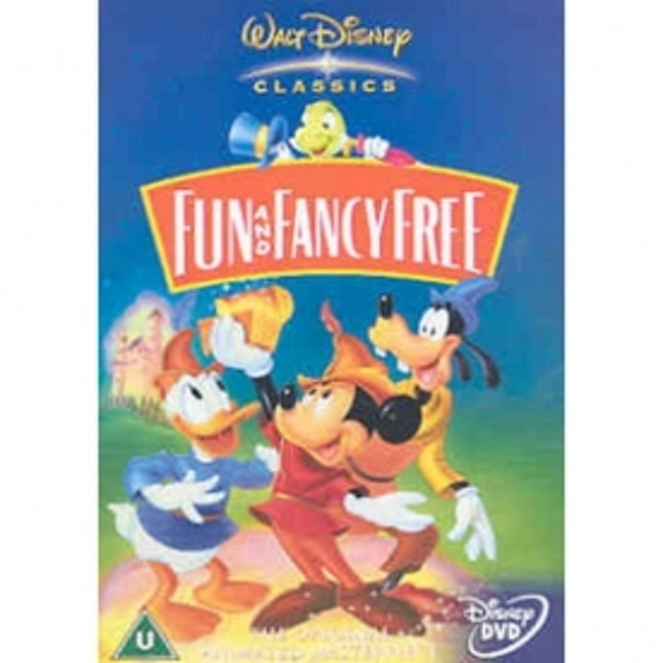 Disney - Fun And Fancy Free DVD