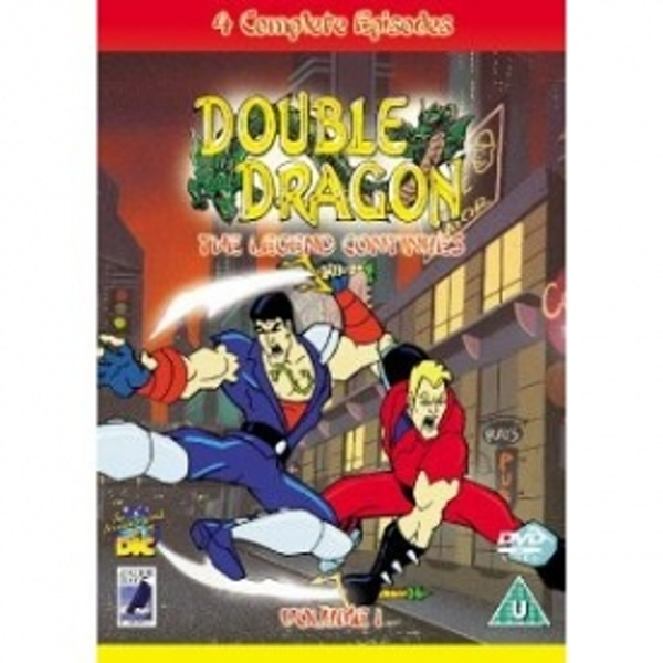 Double Dragon The Legend Continues DVD