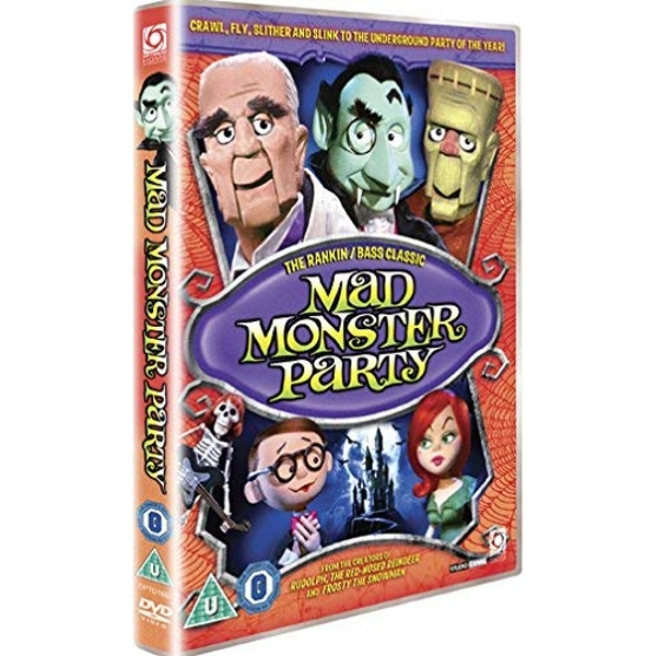 Mad Monster Party DVD