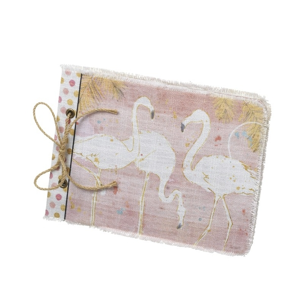Flamingo Fabric Book By Heaven Sends