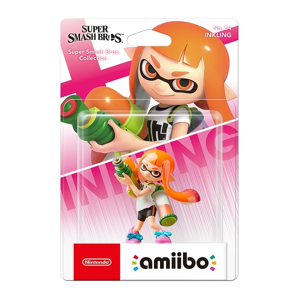 Inkling Girl Amiibo (Super Smash Bros Ultimate) for Nintendo Switch