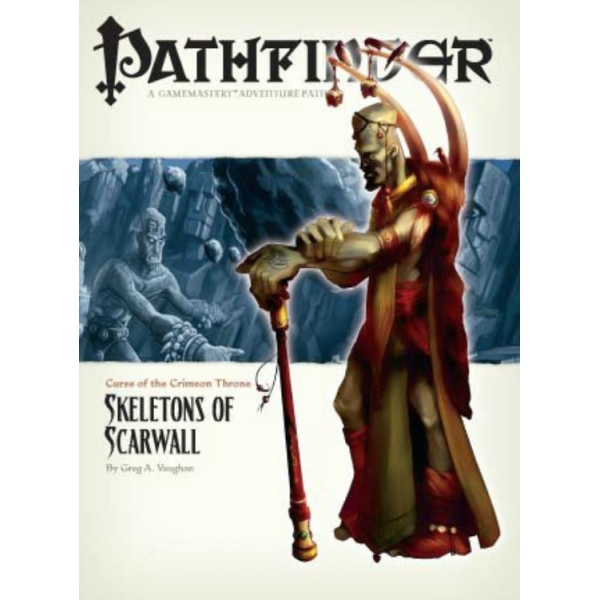 Pathfinder #11 Curse Of The Crimson Throne: Skeletons Of Scarwall
