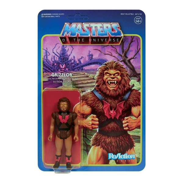 Masters of the Universe ReAction Action Figure Wave 5 Grizzlor 10 cm