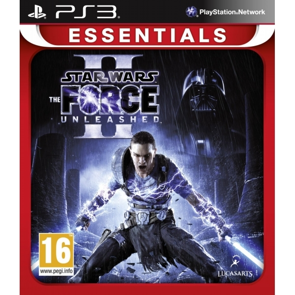 Star Wars The Force Unleashed II 2 (Essentials) Game PS3