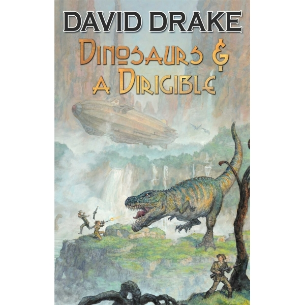 Dinosaurs and a Dirigible by David Drake (Paperback, 2014)