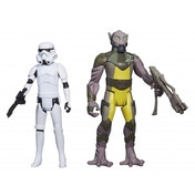 Star Wars Mission Series Garazeb Zeb Orrelios and Stormtrooper Action Figure Set