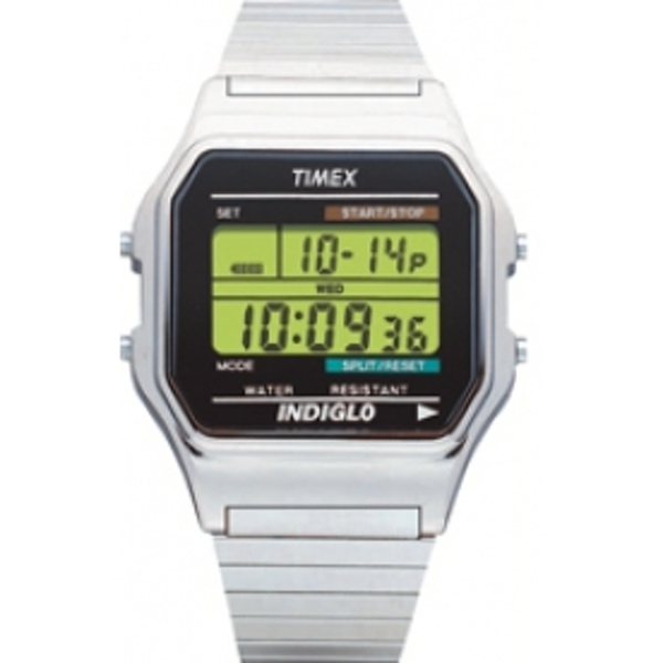 Timex T78587 Mens Style Watch Silver