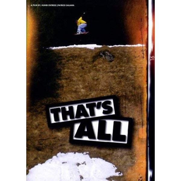 That's All DVD