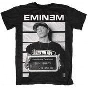 Eminem - Arrest Men's Large T-Shirt - Black
