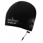 No Fear Black Headphone Beanie