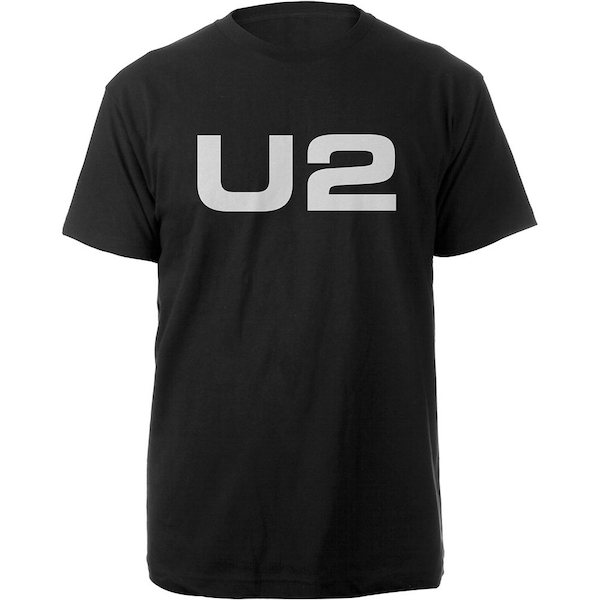 U2 - Logo Men's Large T-Shirt - Black