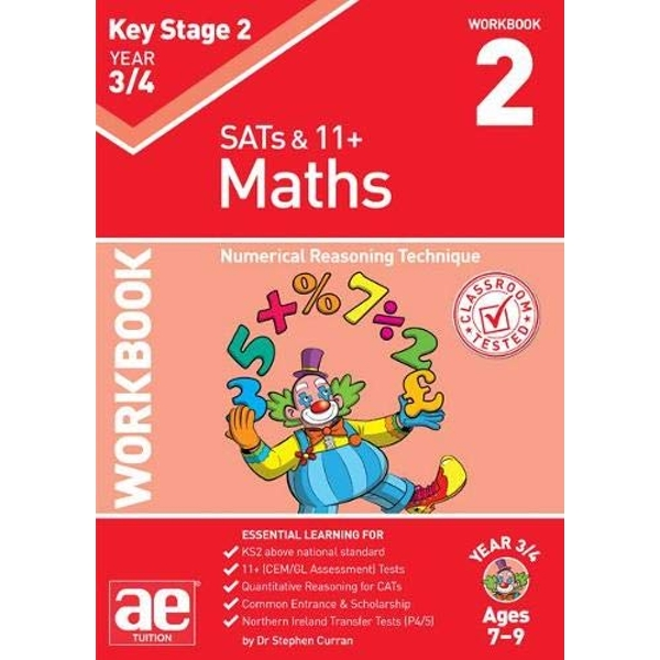 KS2 Maths Year 3/4 Workbook 2 Numerical Reasoning Technique Paperback / softback 2018