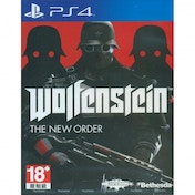 Wolfenstein The New Order Game PS4 (#)
