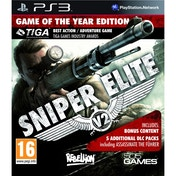 Sniper Elite V2 Game of the Year (GOTY) Game PS3