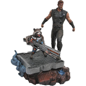 Thor & Rocket Raccoon (Infinty War) Diamond Select Statue