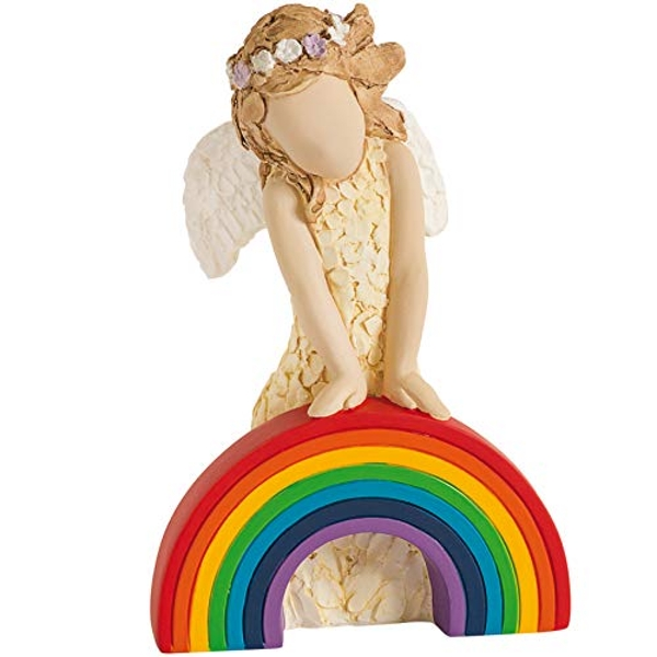 More Than Words Love And Hope Rainbow Figurine 9616