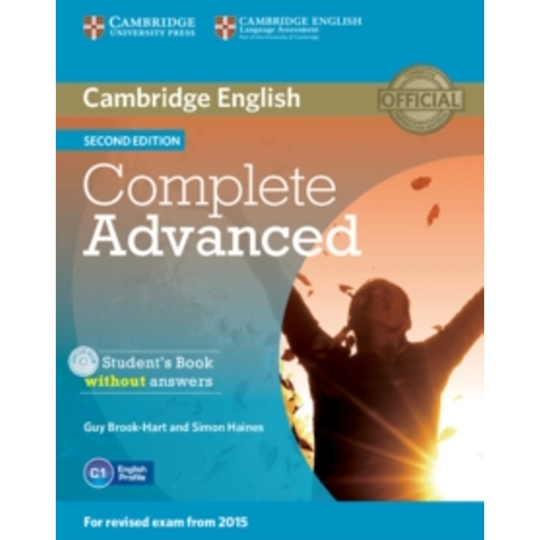 Complete Advanced Student's Book without Answers with CD-ROM by Guy Brook-Hart, Simon Haines (Mixed media product, 2014)