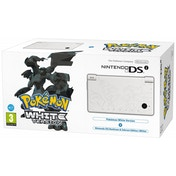 DSi Console in White & Pokemon White Game