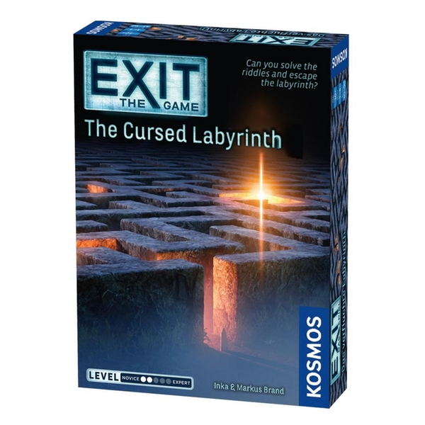 Exit: The Cursed Labyrinth Board Game