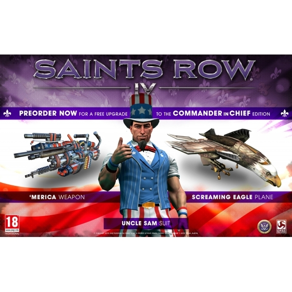 Saints Row IV 4 Commander in Chief Edition Game Xbox 360 - Image 2