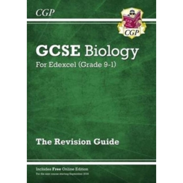 New Grade 9-1 GCSE Biology: Edexcel Revision Guide with Online Edition by CGP Books (Paperback, 2016)
