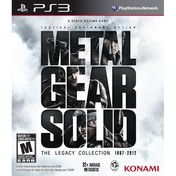 Ex-Display Metal Gear Solid The Legacy Collection Game PS3 (#) Used - Like New