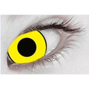 Mal Chick Yellow MesmerGlow UV Cosmetic Lenses 1 Month