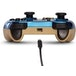 Chrome Blue Zelda PowerA Wired Controller for Nintendo Switch [Damaged Packaging] - Image 4