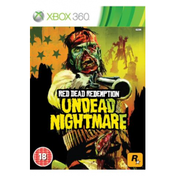 Red Dead Redemption Undead Nightmare Game Xbox 360