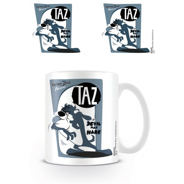 Looney Tunes taz - Retro Mug