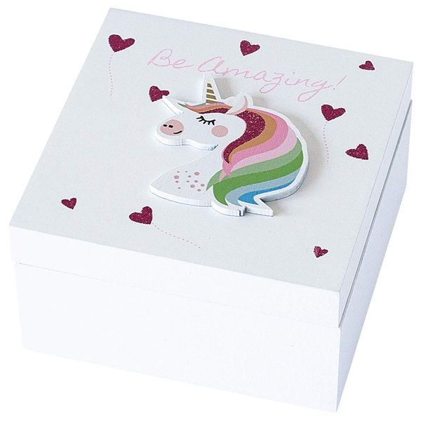 Arora Kids Keepsake Box Unicorn