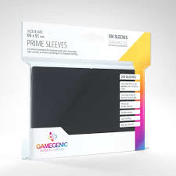 Gamegenic Prime Black - 100 Sleeves