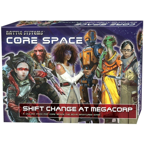 Core Space: Shift Change at MegaCorp Expansion Board Game
