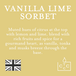 Vanilla Lime Sorbet (Polka Dot Collection) Wax Melt - Image 3
