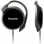 Panasonic RPHS46EK Slim Clip-on Earphones Black