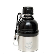 Long Paws Silver (250ml) Small Pet Water Bottle