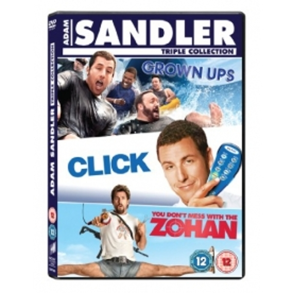 Adam Sandler Box Set Click/Grown Ups/You Don't Mess With the Zohan DVD
