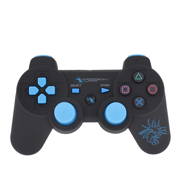 Dragon Shock Wireless Six-Axis Bluetooth Controller for PS3 [Damaged Packaging] - Image 1
