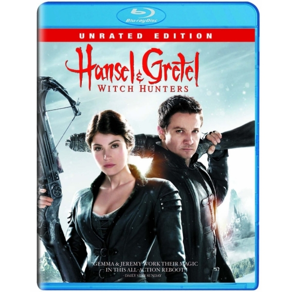 Hansel and Gretel Witch Hunters Blu-ray